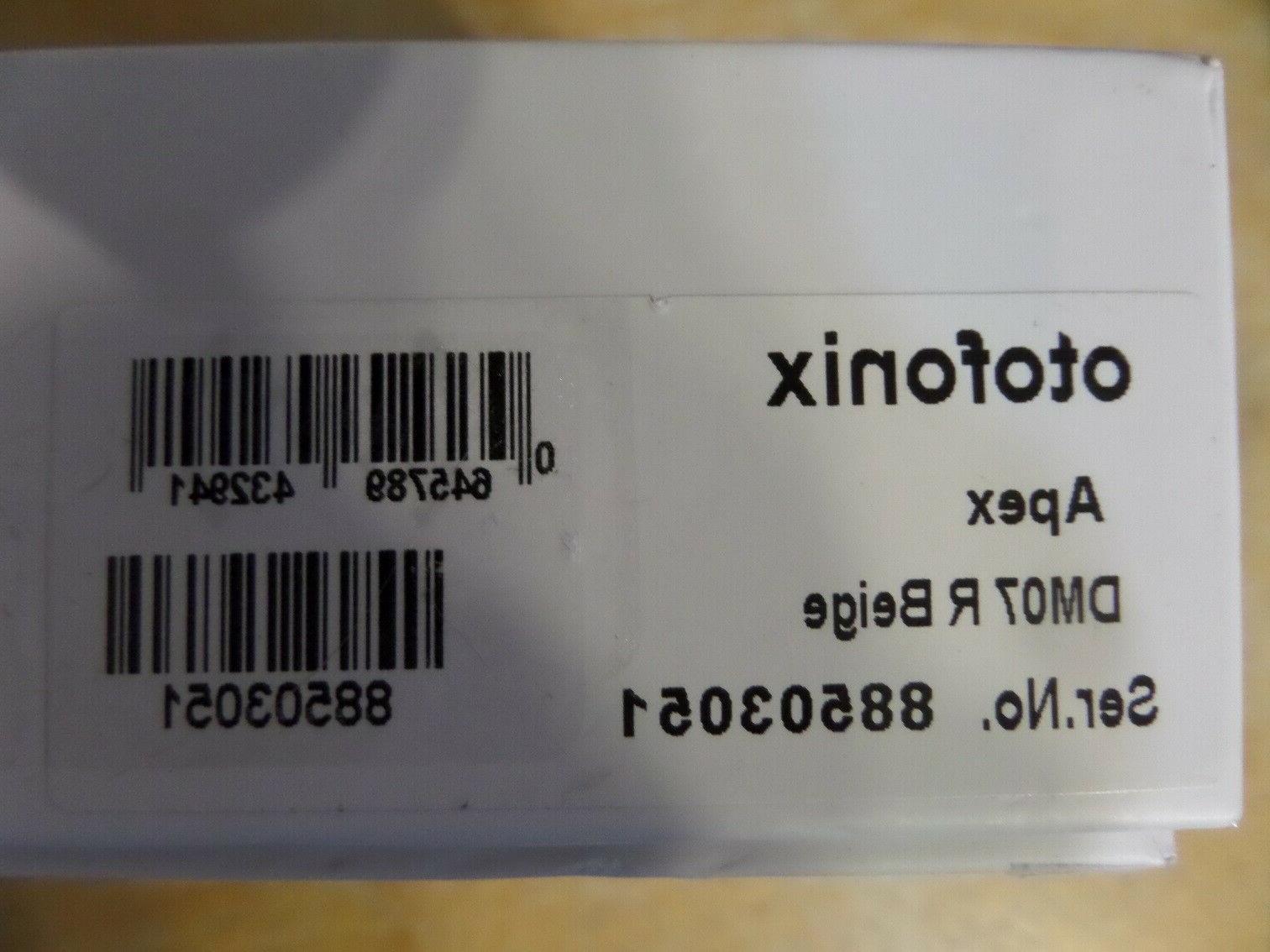 Otofonix Apex Hearing Amplifier Right Beige DM07 BNIB