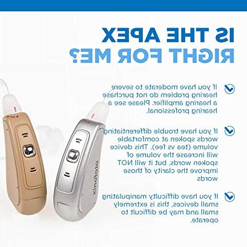 Otofonix Apex Hearing Amplifiers Aid Assist