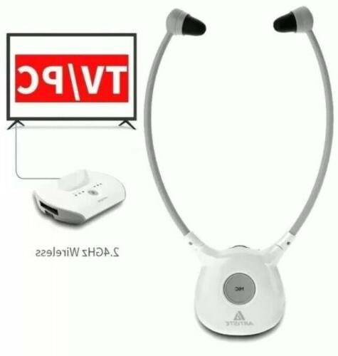 Artiste APH100 Wireless Aid system 2.4G TV Assistive Listening Headset