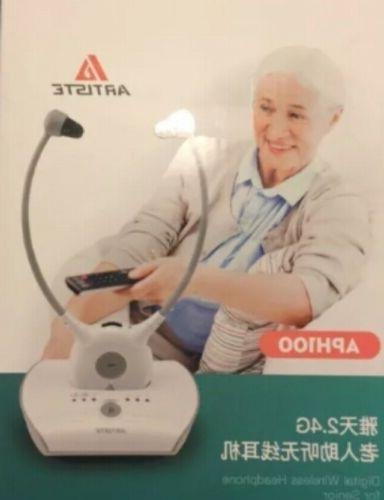 aph100 wireless hearing aid system 2 4g