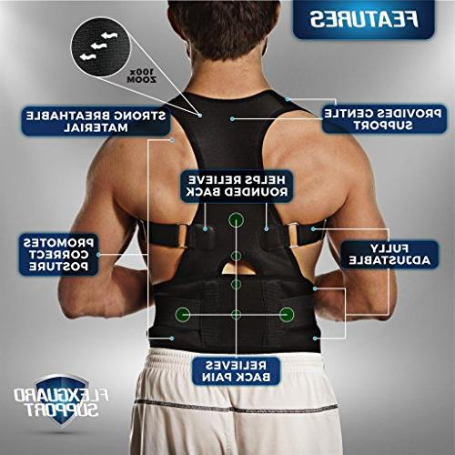 Back Adjustable Brace | Lumbar Lower Pain Men Women