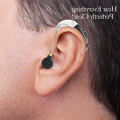 MEDca The Ear Sound - BTE Hearing and Digital Sound PSAD of Hearing, Noise Feature, Black