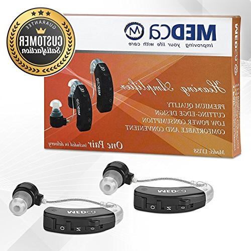 MEDca Behind The Ear Sound Amplifier Hearing Ear and Digital of Hearing, Noise Feature,