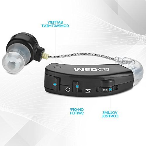 MEDca Behind The Sound Hearing and Sound PSAD The of Noise Feature, Black
