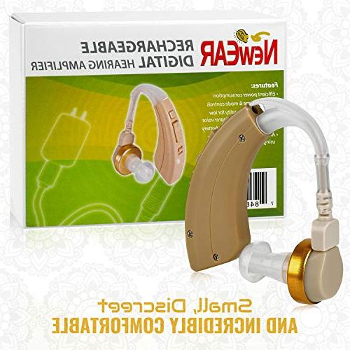 NewEar Ear BTE Device and Digital Enhancer PSAD The Hard of Reducing Feature