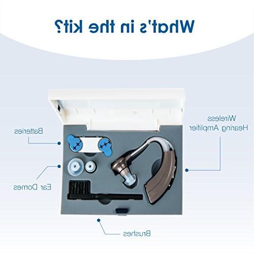 Britzgo BHA-220D Silver Amplifier, Designed Adjustable Fit