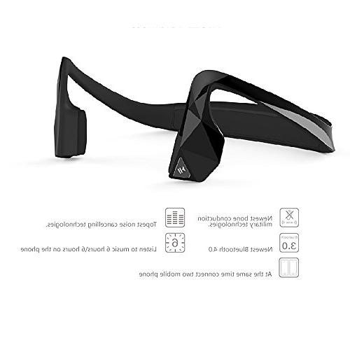 marsboy Wireless Sports Stereo Bluetooth Bone Conduction Conduction Aid