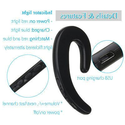 Bone Headphone Stereo Bluetooth 4.2