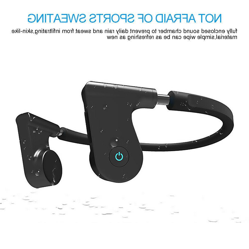 Bone Hearing Aids Waterproof Headphone