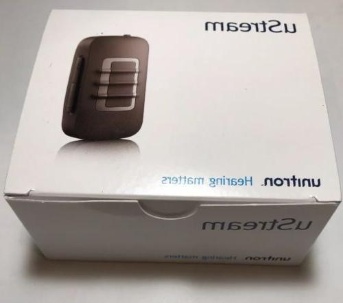 Brand New uStream for Hearing Aids Bluetooth