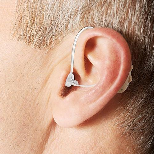 Premium BTE Hearing - Digital Ear Device Rechargeable Behind The Ear Hearing Set with Sound for The of Hearing by