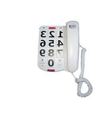 Corded Phone Big Button Volume control Hearing aid compatibl