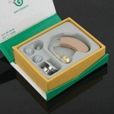 digital hearing aid aids behind the ear