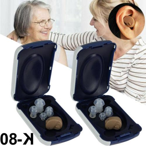 Digital Rechargeable Hearing Aids Ear Sound Amplifier