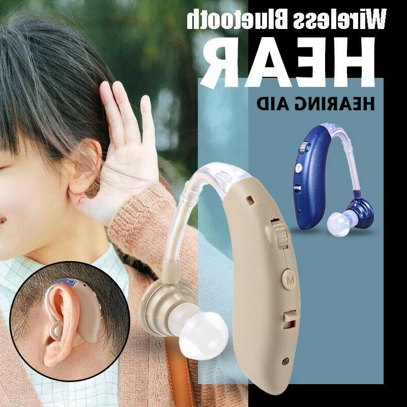 digital wireless bluetooth hearing aid invisible bte