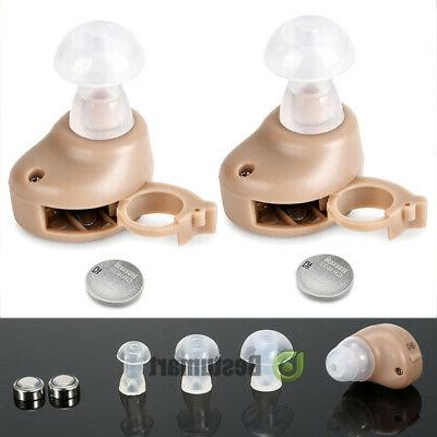 ear invisible sound amplifier adjustable