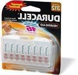 Duracell Easy Tab Hearing Aid Batteries Size 312