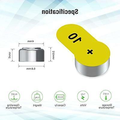 EBL & Chargers Hearing Aid PR70 102 Zinc-Air
