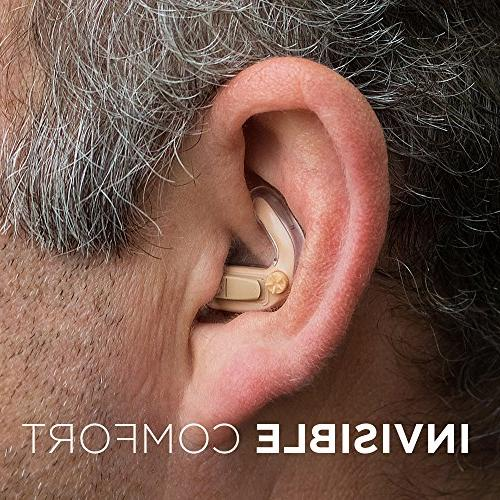 Empower Hearing - PAIR - Ears - Unique In The Ear Design - Volume Control Reduction 4 Programs - Almost