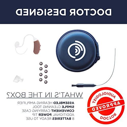 Empower Hearing Digital Noise Reduction, Feedback Cancellation Enhances Nearly Ear Channel Device Aids Wear,