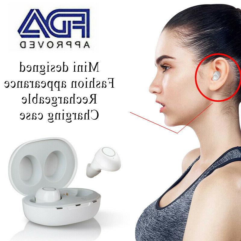 fashion rechargeable hearing aids in the ear