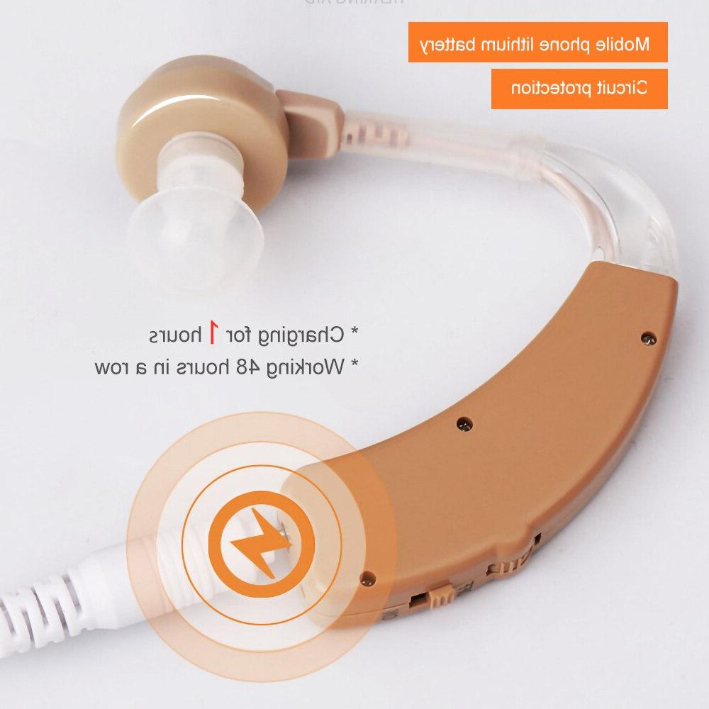 Cofoe <font><b>Aid</b></font> Rechargeable <font><b>Hearing</b></font> Mini Invisible USB Ear Sound <font><b>Amplifier</b></font> For Elderly <font><b>Hearing</b></font>