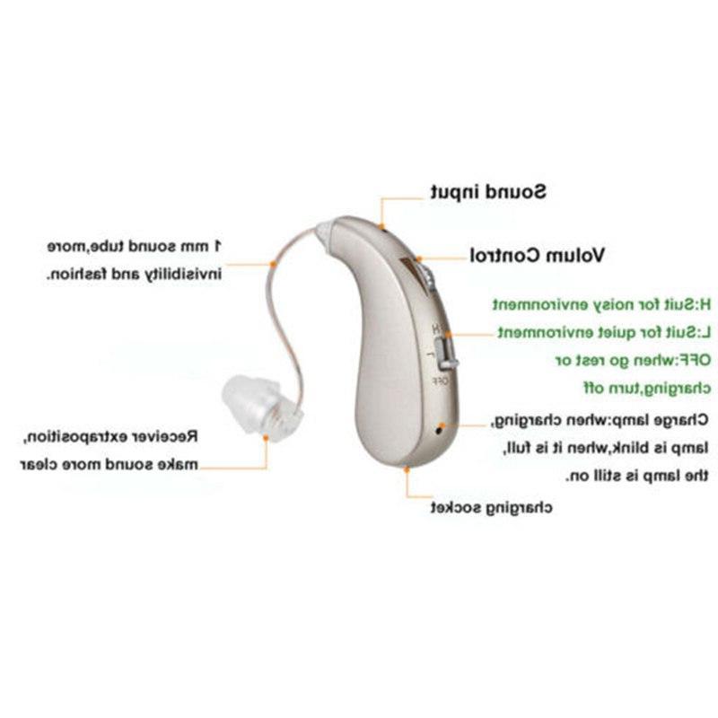 <font><b>Rechargeable</b></font> Severe Ear <font><b>Aids</b></font> Amplifier For Elderly