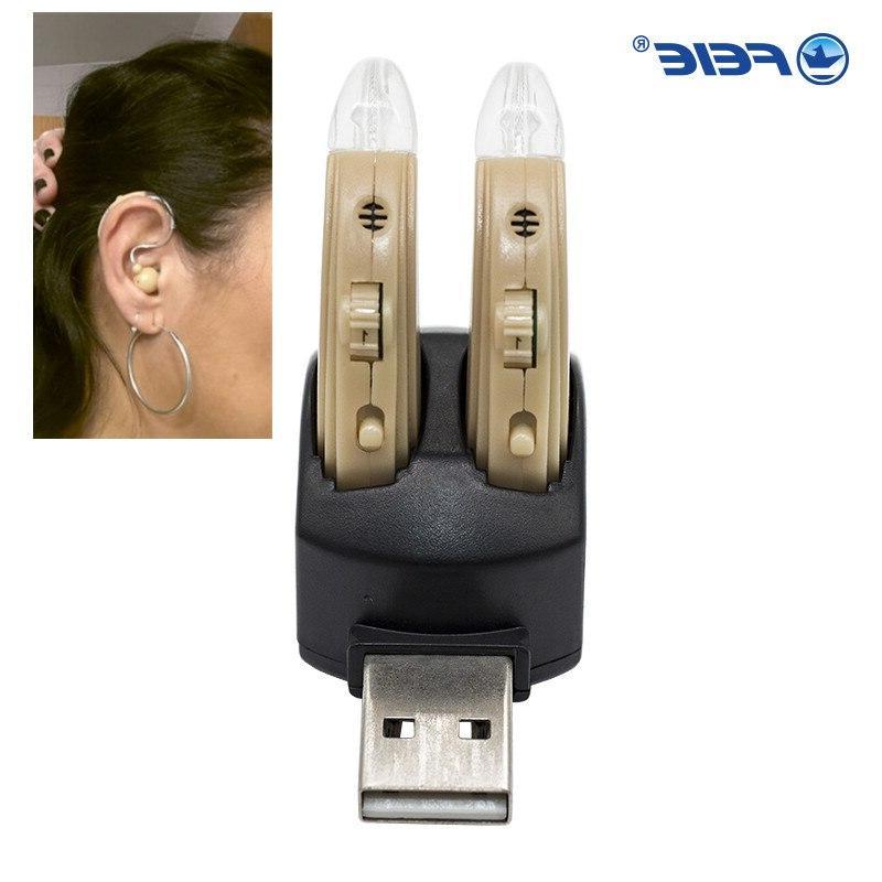 <font><b>Rechargeable</b></font> Ear Apparatus High Power <font><b>Aids</b></font> Instrument Earphones Deafness Device