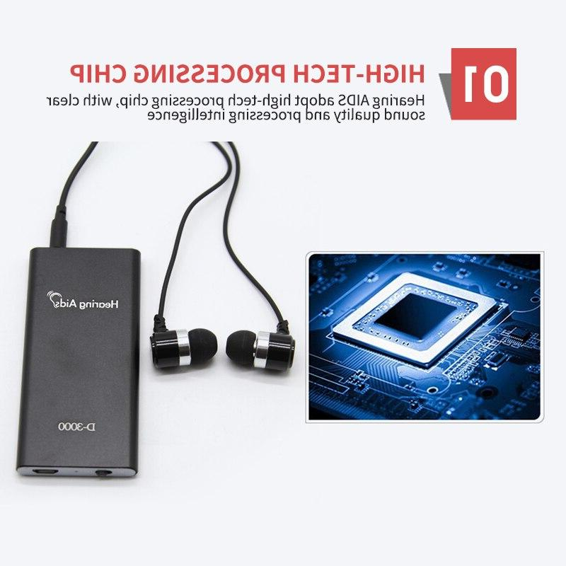 Sound Amplifier For Elderly <font><b>Hearing</b></font> <font><b>Aids</b></font> Adjustable Digital Ear Devices