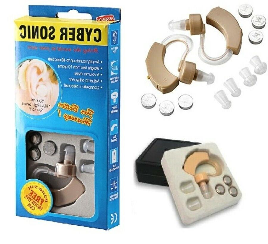 hearing aid aids kit behind