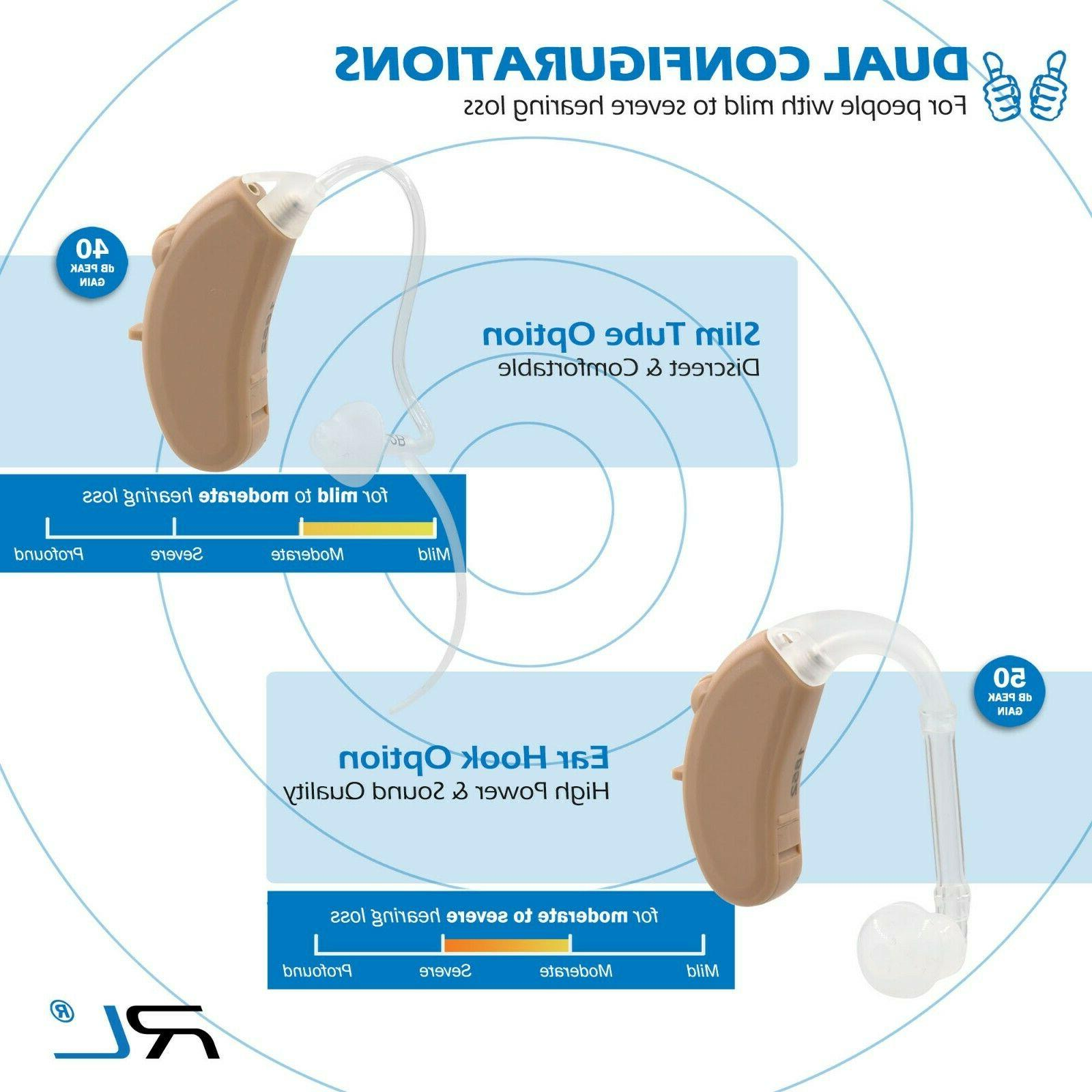 Hearing Aid High Power for of - R&L