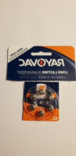 Rayovac Hearing Aid Batteries Size 13 - 6 PK EX Date - 2021-