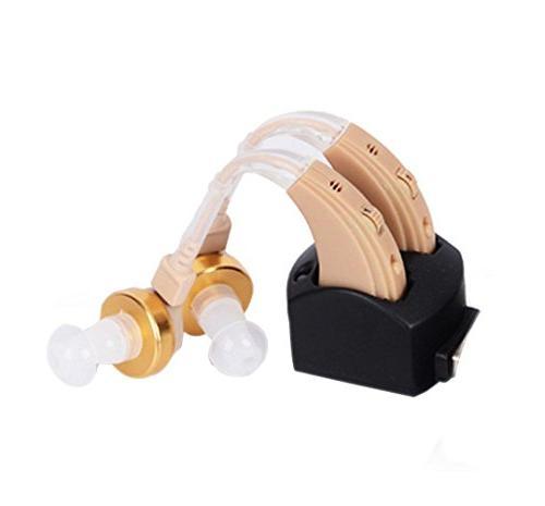 hearing aid behind ear voice