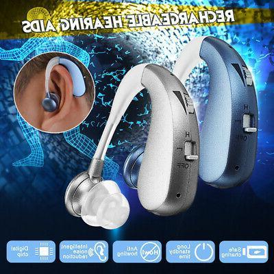 Hearing Rechargable Mini Digital Hearing Aid Ear