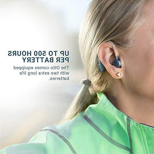 Britzgo Battery Life, Blue, and Audiologist designed