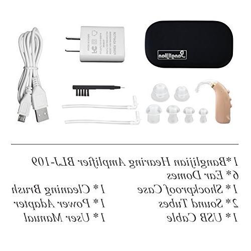 Banglijian Hearing Amplifier Rechargeable Cancelling