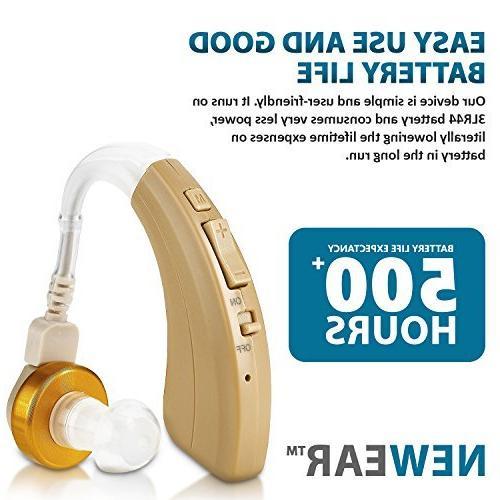 Digital Hearing Personal Amplifier Extended 500hr NewEar
