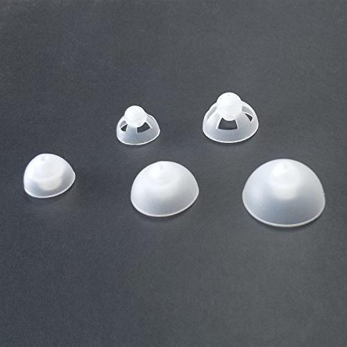 Banglijian Hearing Amplifier Replacement Slim Sound Tubes Domes Ziv-201A Ziv-201