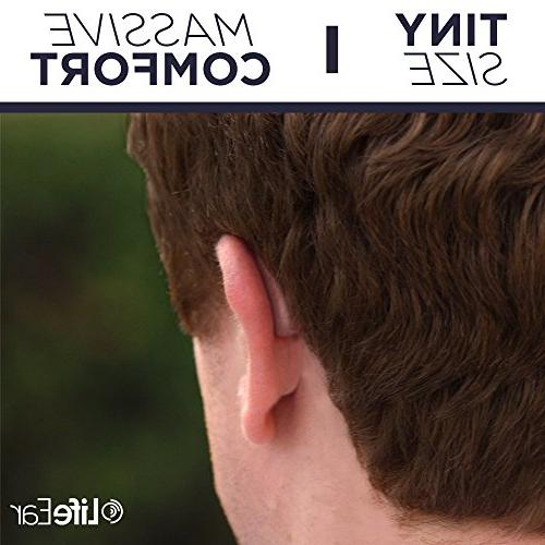 Empower Hearing Amplifier. Noise Feedback Enhances Nearly Ear 12 Aids Hearing. Ready to Wear,