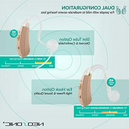 Neosonic Hearing to Aid Hearing, Sound Medical Adults and