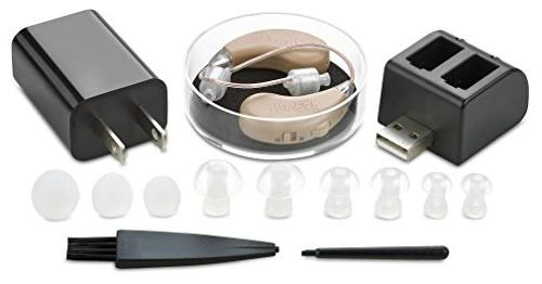 New Digital Technology - Almost Invisible Design and Rechargeable USB Personal Sound Amplifier with Adjustable Control
