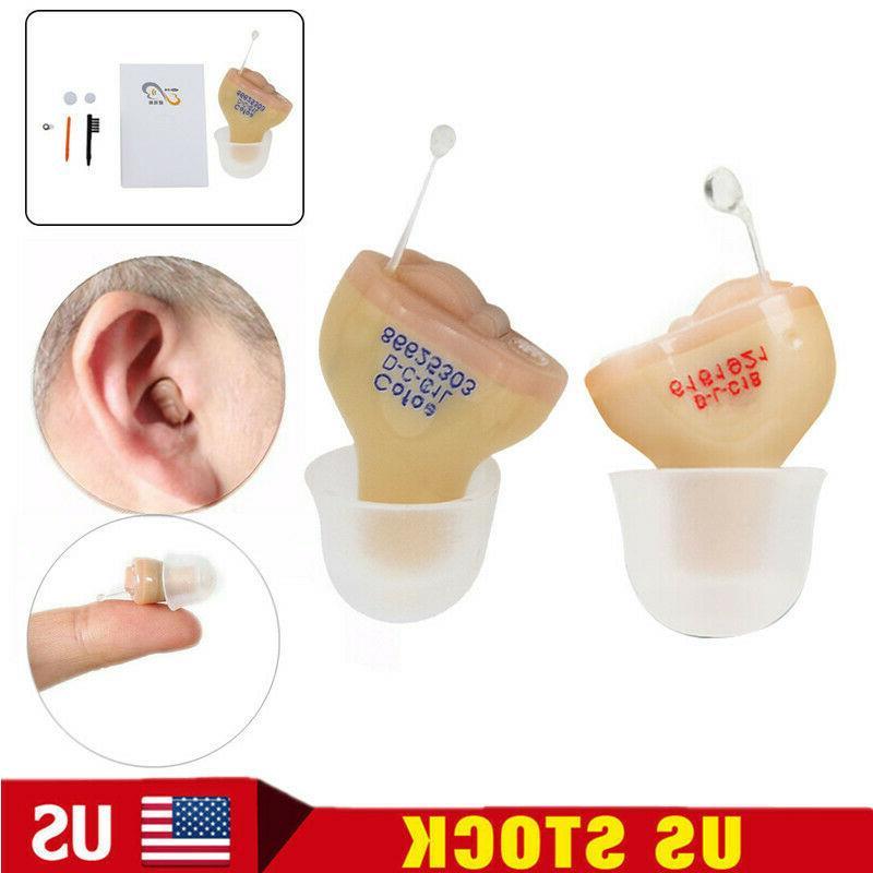 Invisible Wireless Mini Hearing Aid Small