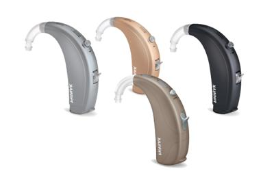 LATEST BRAND NEW PHONAK BASEO Q5SP/M  HEARING AID 12 DAY DEL