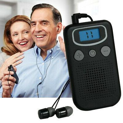 lightweight the elderly tools sound booster hearing