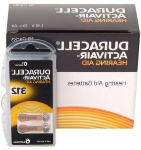 Lot of 24 to 800 Duracell Activair Mercury Free Hearing Aid