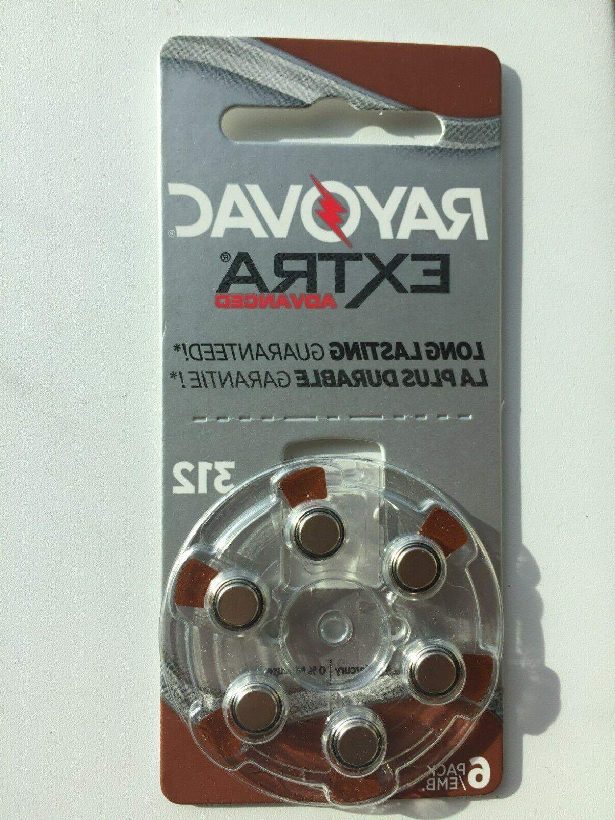 Lot of Extra Size 312 Batteries