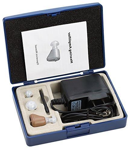 MEDcaTM ITE Mini Ear Hearing Amplifier
