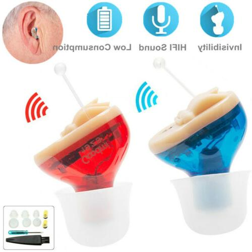 mini digital invisible hearing aid cic small