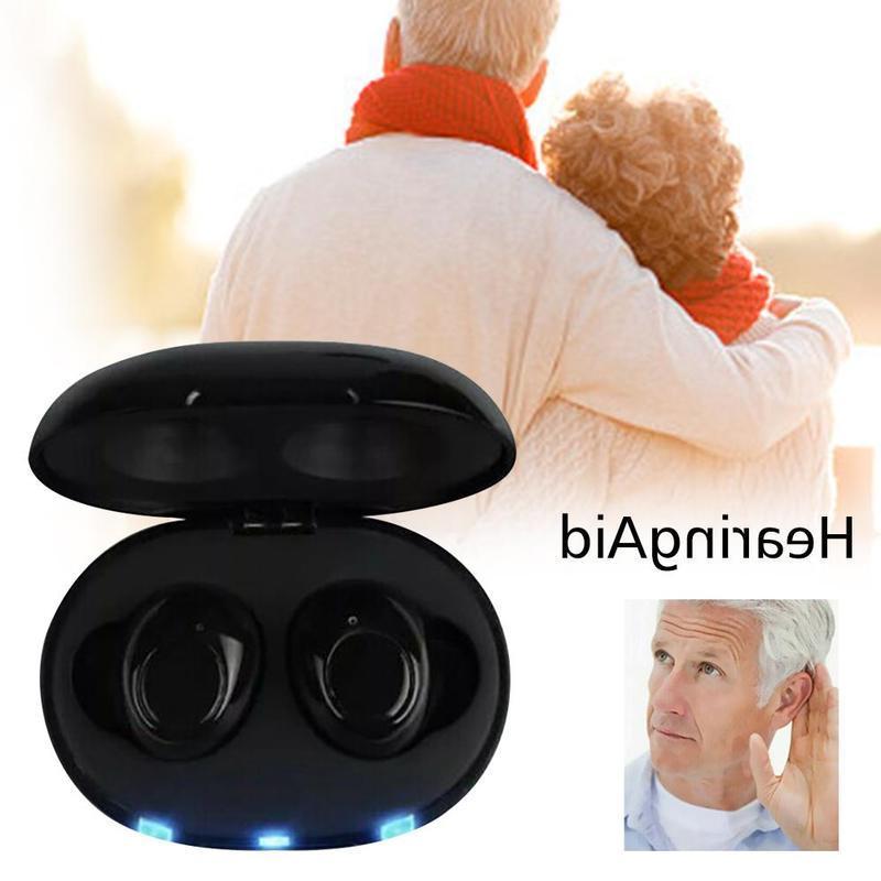 Mini <font><b>Rechargeable</b></font> Ite Invisible CIC <font><b>Aid</b></font> Digital Adjustable Tone <font><b>Hearing</b></font> For Elderly <font><b>Hearing</b></font> Loss