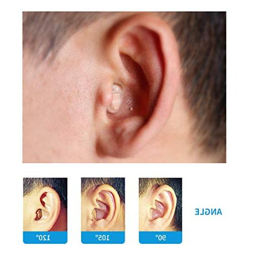 TKING Mini Hearing for Ear Reduction Feedback Volume Assist Hearing